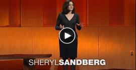 שריל סנדברג: מדוע ישנן מעט מידי נשים מנהיגות בצמרת לעומת גברים?